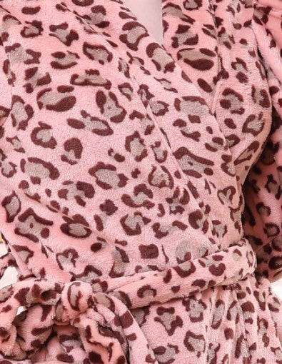 Super Soft Half Length Spa Robe