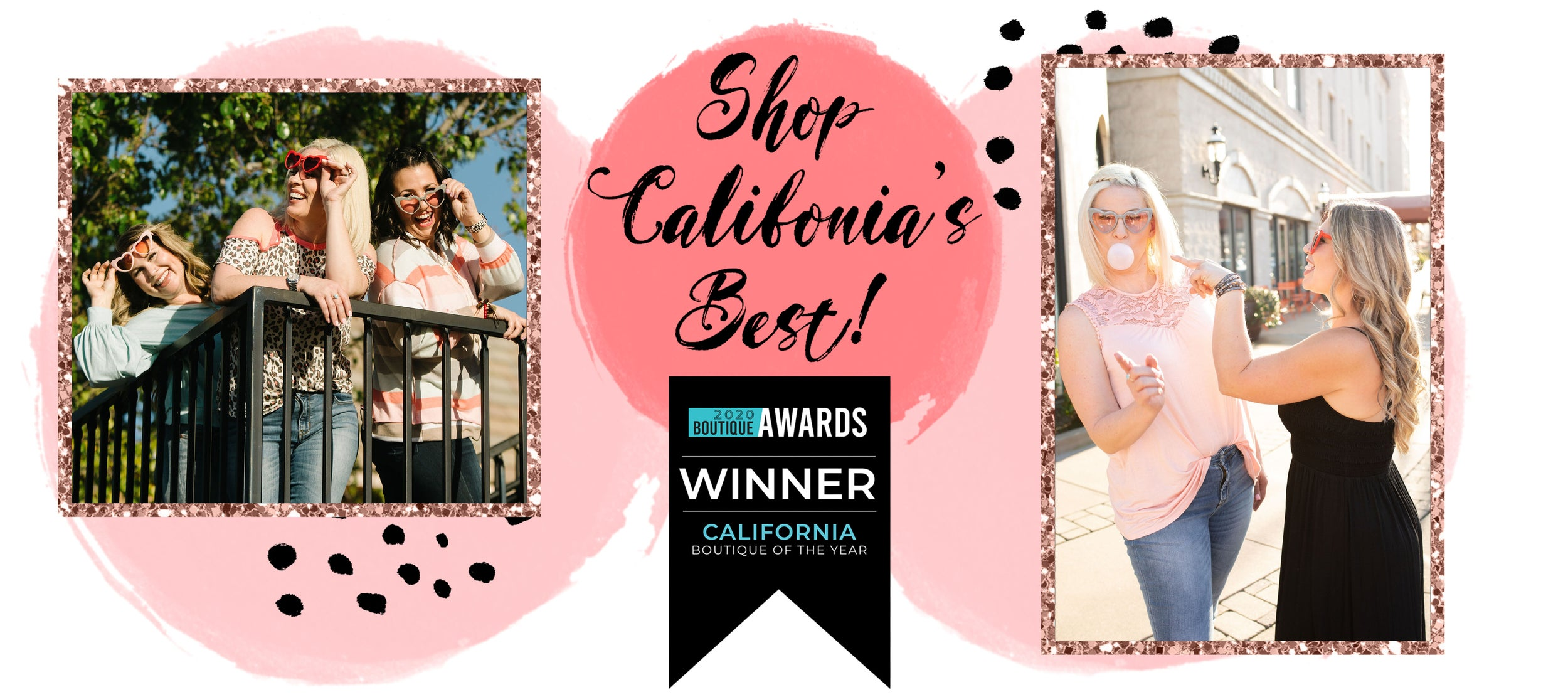 SHOP CALIFORNIA'S BEST!!!