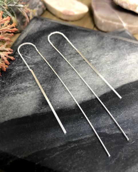 Needle and Thread Threader Earrings