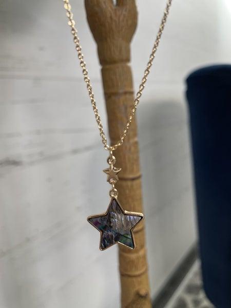 Star Shape Pendant Necklace