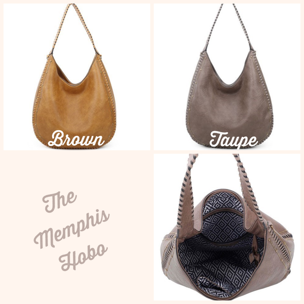 The Memphis Hobo Bag