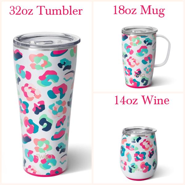 Party Animal - 14oz Wine, 18oz Mug, 32oz Tumbler
