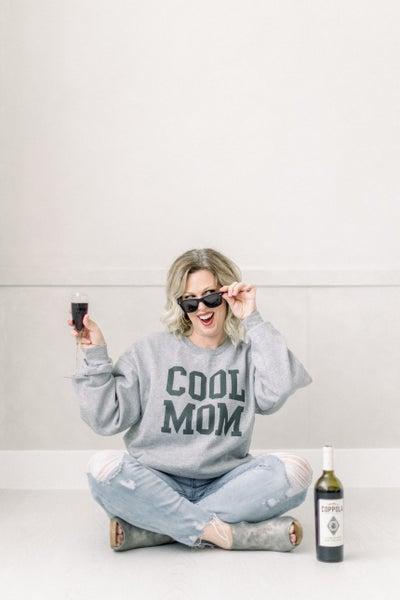 Cool Mom Crew Neck Pullover