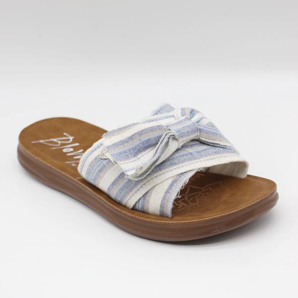 Blowfish Saturn Slip On Linen Sandal