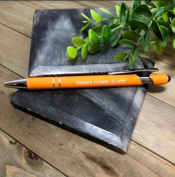 Simma Down Sluts Pen