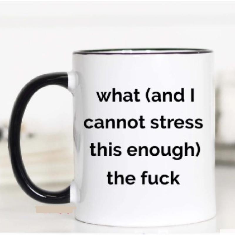 WTF Coffee Mug 15oz