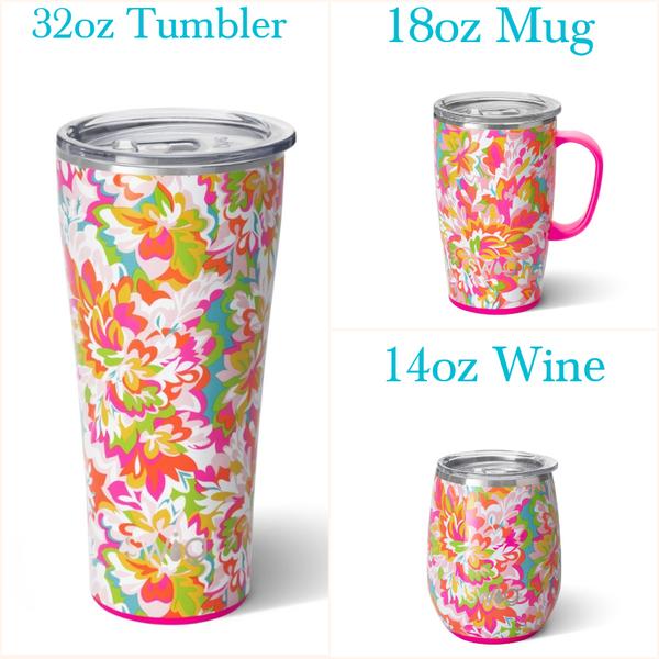 Hawaiian Punch - 14oz Wine, 18oz Mug, 32oz Tumbler
