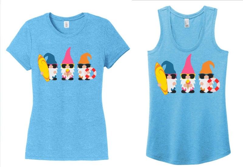 Summer Gnomes Tee or Tank