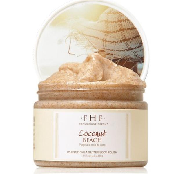 NEW!! Coconut Beach® Whipped Shea Butter Body Polish