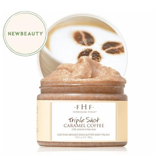 NEW!! Triple Shot Caramel Coffee Whipped Shea Butter Body Polish