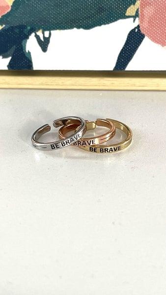 Be Brave Fashion Ring SET