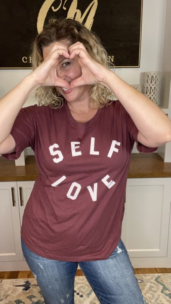 Self Love Washed Cotton Top