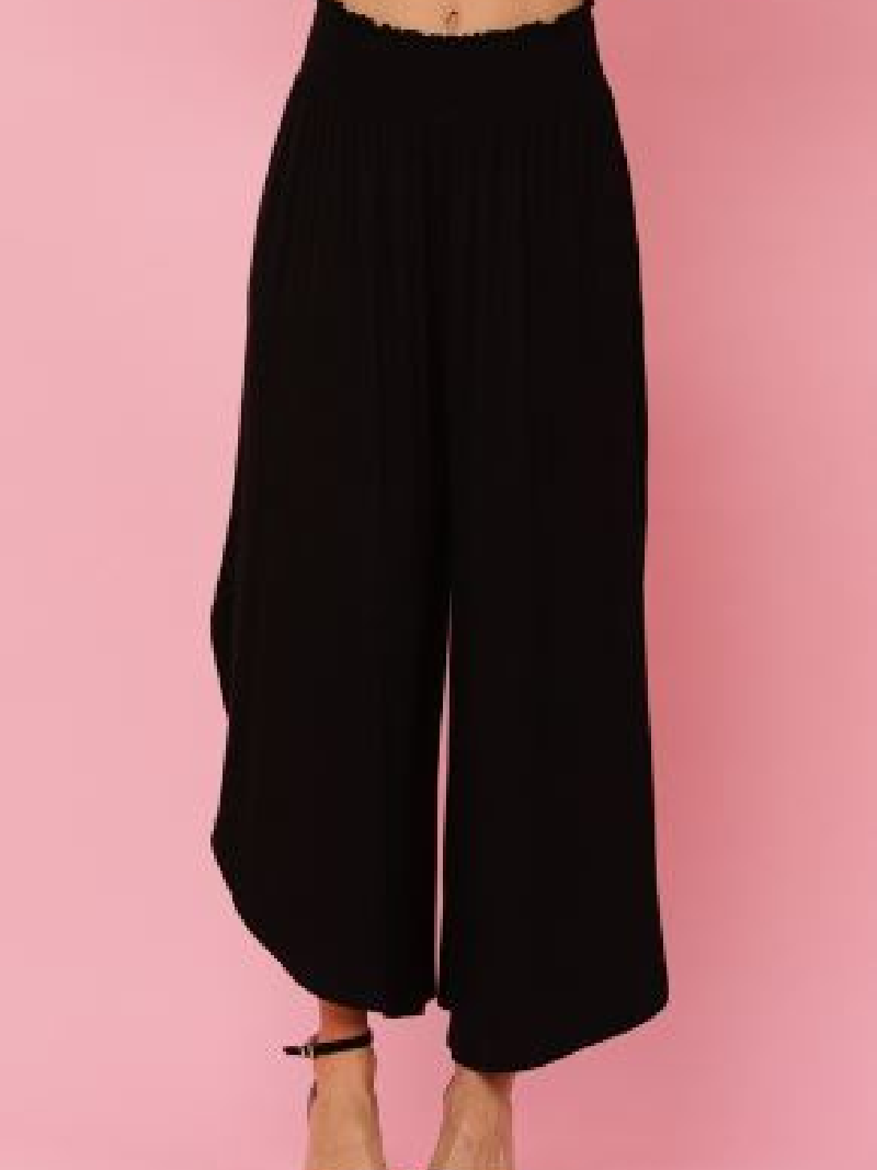 Girlfriend Gaucho Knit Pants
