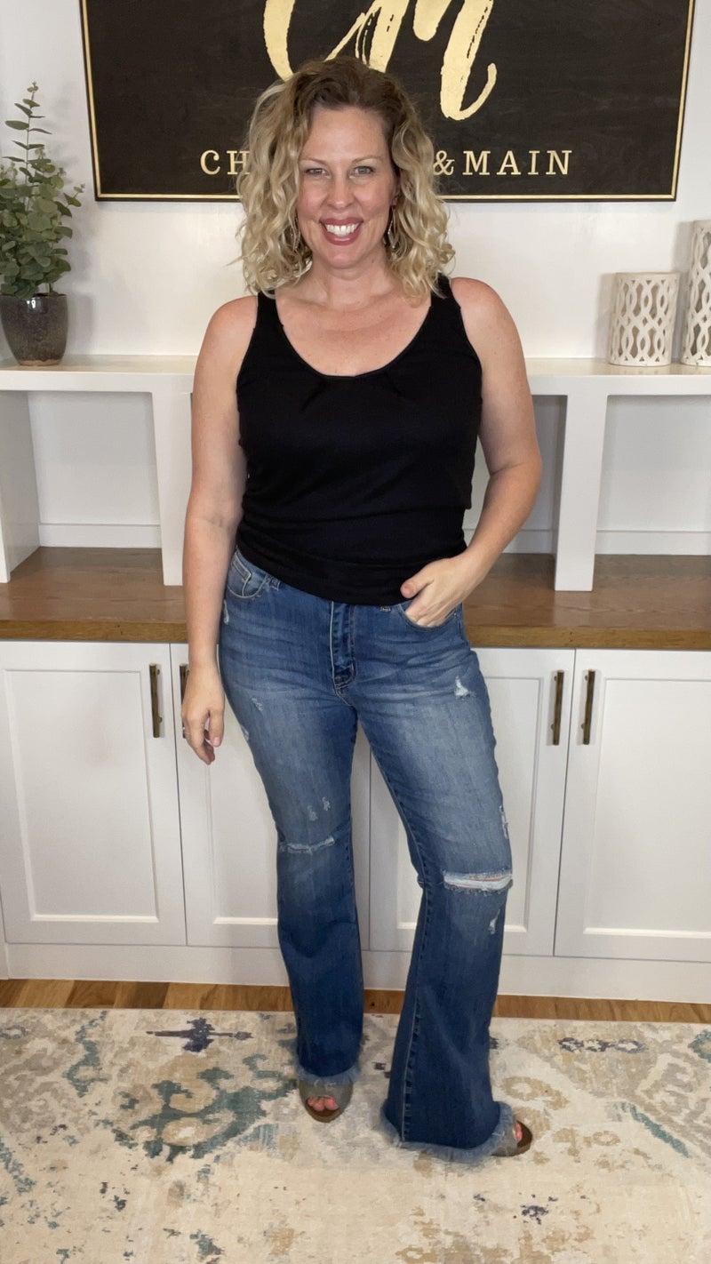 Pit Boss RISEN High Rise Jeans