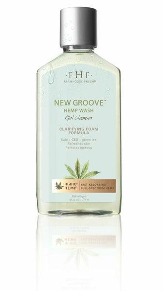 New Groove Hemp Wash Gel Cleanser