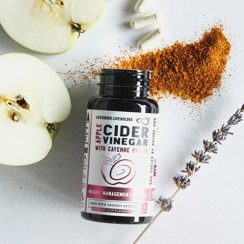 100% Organic Apple Cider Vinegar Capsules
