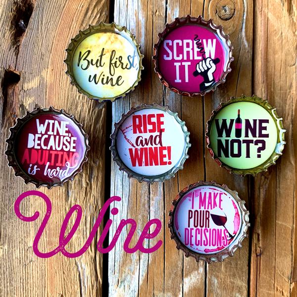 Wine Magnet - Six Pack