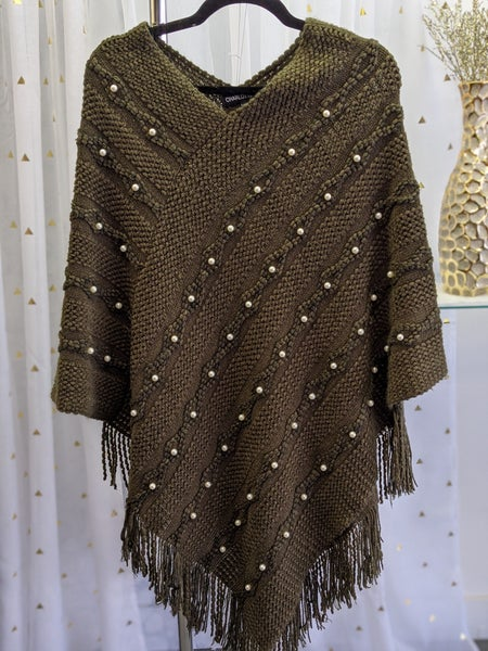 Pearl Poncho 2 Colors