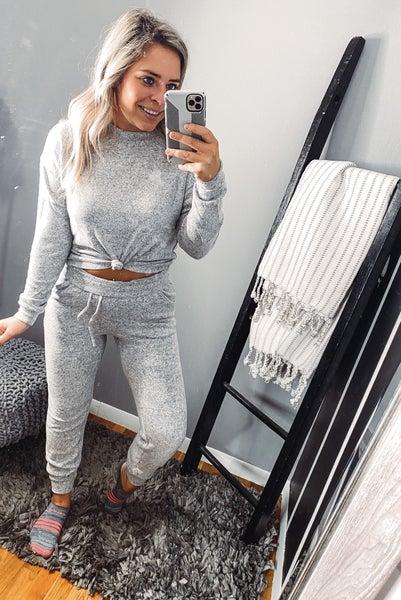 Grey pj set