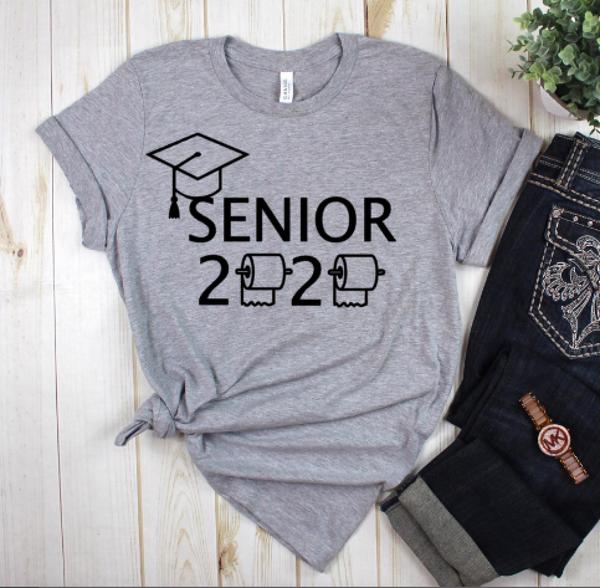 Seniors 2020 Heather Grey Graphic Tee *Final Sale*