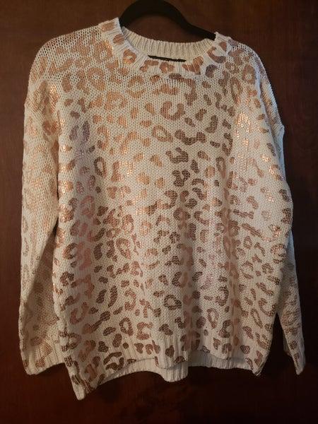 Animal Print Sweater *Final Sale*