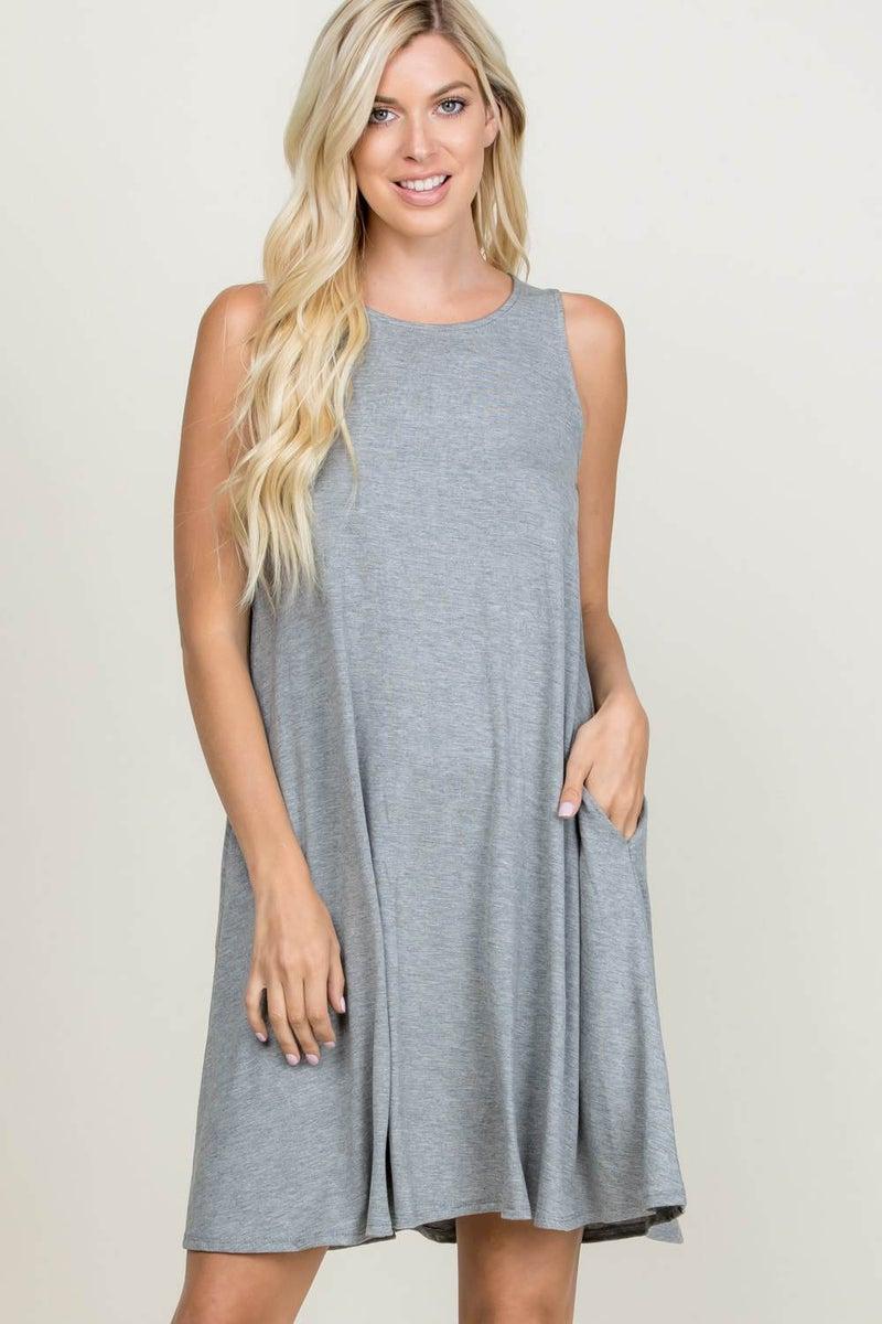 Tank Dress w/ Pockets