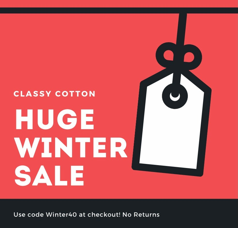 Winter Sale use code WINTER40