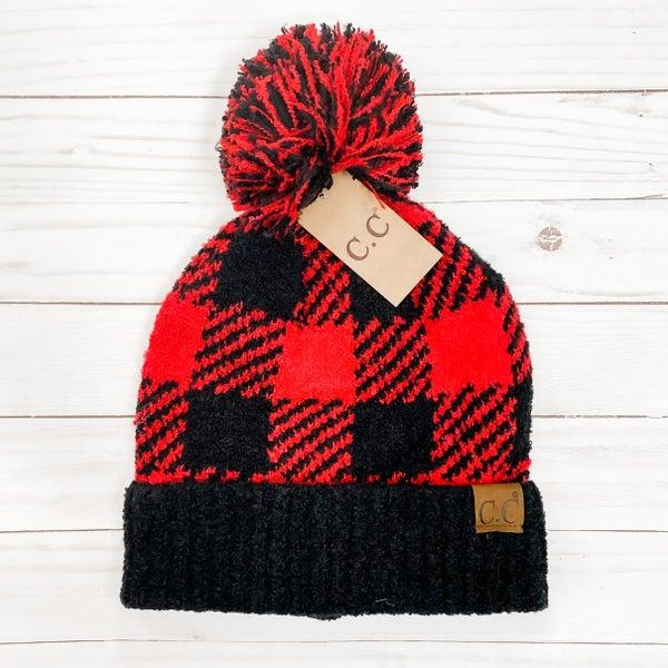 Pom Poms For All Hat