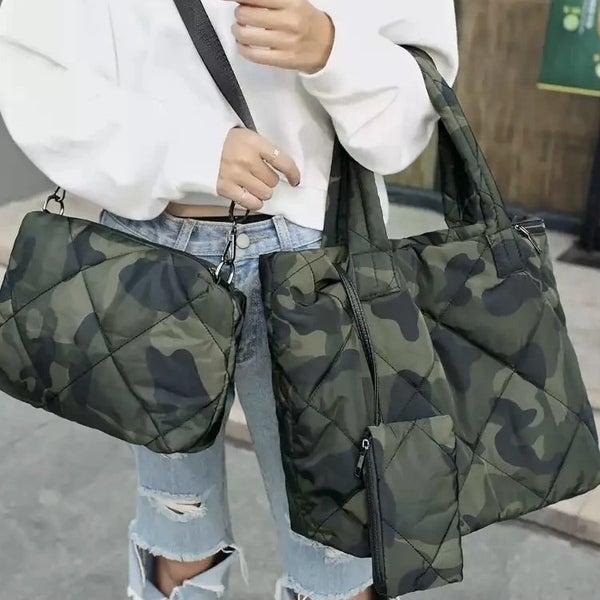 Keep it in Camo Bag Set