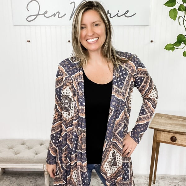 Night On The Town Cardigan