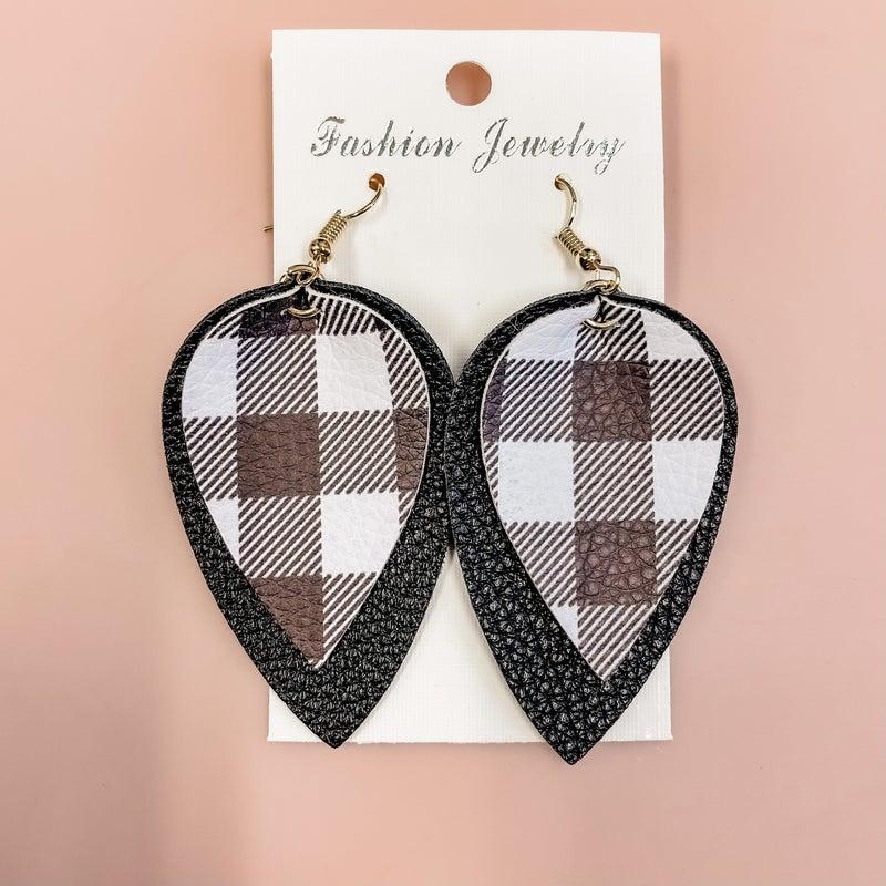 Perfectly Plaid Earrings