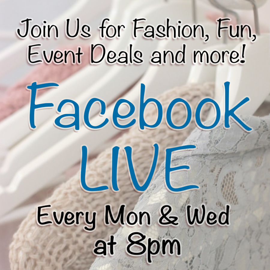 Join Us for Live Shopping!