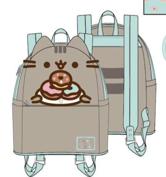 Pusheen Plate O Donuts Cosplay Mini Backpack [PRE-ORDER - SEPTEMBER DELIVERY] LOUNGEFLY