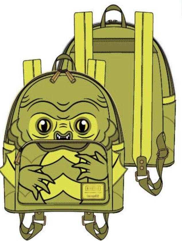 CREATURE FROM the BLACK LAGOON Cosplay Mini Backpack  [PRE-ORDER - SEPTEMBER DELIVERY] LOUNGEFLY