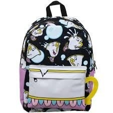 Disney: Chip Potts (Beauty and the Beast) All Over Print  Full Sized Backpack by Bioworld