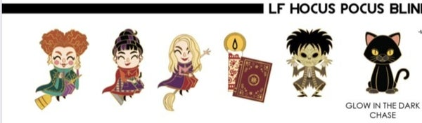 HOCUS POCUS BLIND BOX ENAMEL PINS PRE-ORDER for August