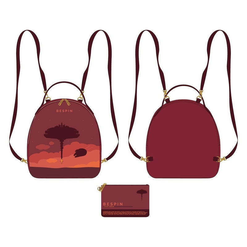Star Wars Bespin Mini-Backpack Set with Pouch Loungefly PRE-ORDER
