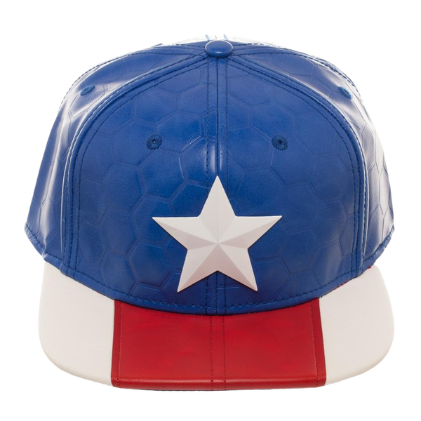Marvel  Captain America Now Suit Up Snapback Cap