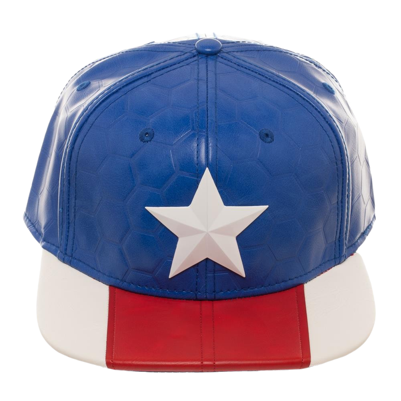 Marvel  Captain America Now Suit Up Snapback Cap