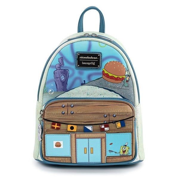 Spongebob Krusty Krab Mini Backpack Loungefly
