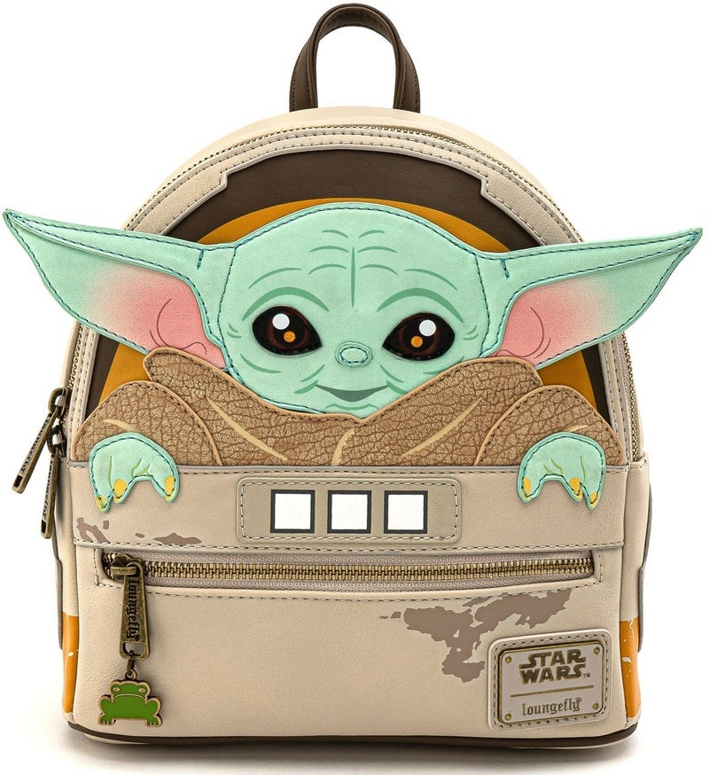 THE CHILD Baby Yoda Star Wars Mini Backpack LOUNGEFLY
