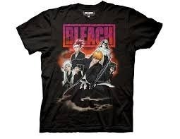 Bleach Smoke Group T-shirt Men's