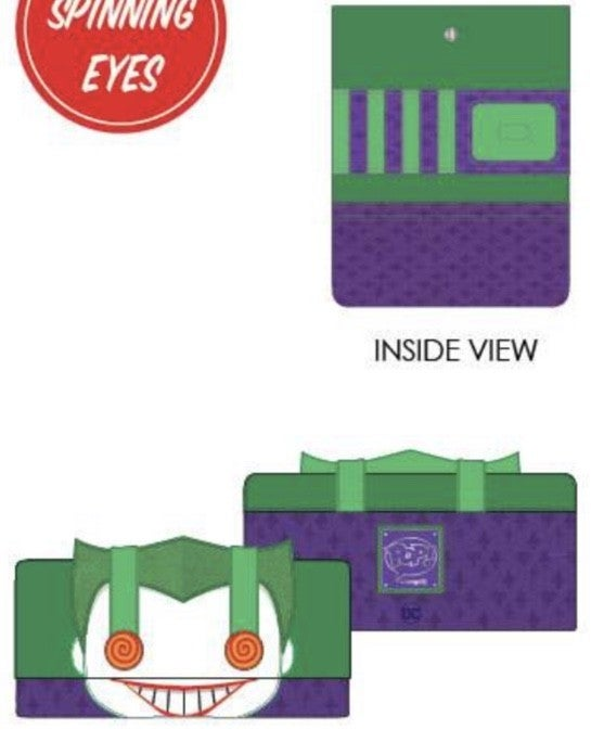DC Joker Eyes Wallet [PRE-ORDER - SEPTEMBER DELIVERY] POP by LOUNGEFLY