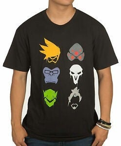 Overwatch Group Spray t-shirt