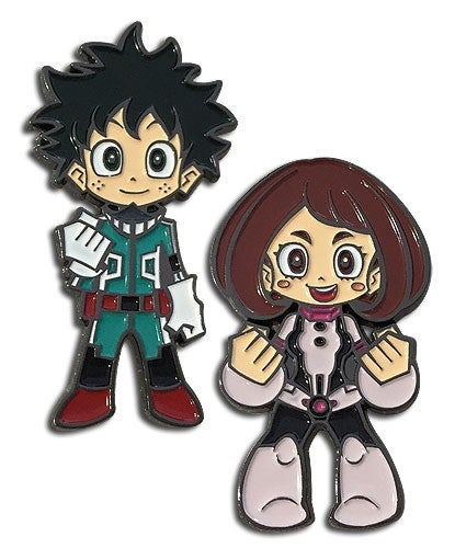 MY HERO ACADEMIA  DEKU & URAVITY PINS