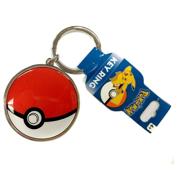 POKEMON Pokeball Metal Keychain