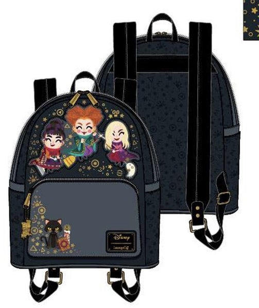 DIFFERENT SHIPPING DATE Hocus Pocus Chebi Mini Backpack or Set Loungefly PRE-ORDER shipping EARLY NOVEMBER