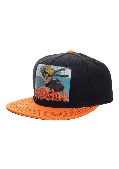 Naruto Printed Screenshot with Embrodiery Snapback Hat