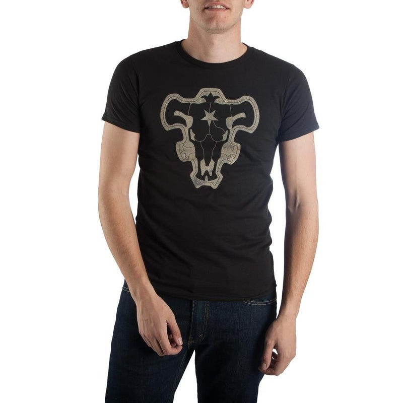 Black Clover Black Bull Logo Men's  T-shirt