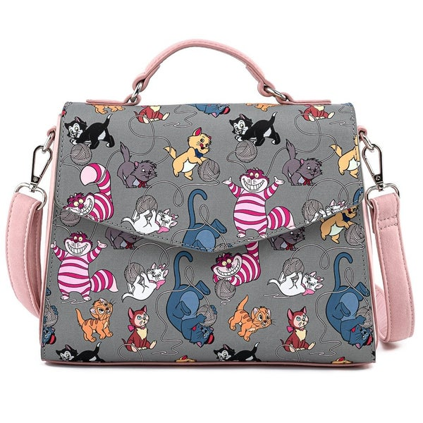 DISNEY Cats Wallet SET or CROSSBODY options LOUNGEFLY